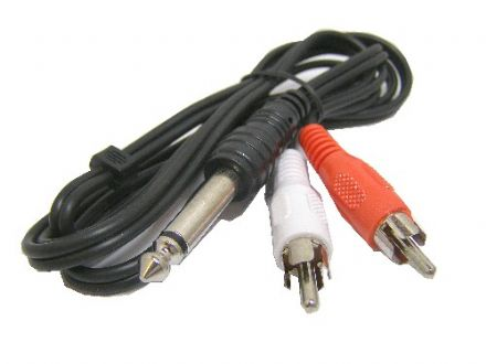"Connected 1/4"" Jack Cable SP5PP"